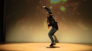 「SATOMI」パワフルなダンスで他を圧倒する