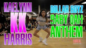 最高に熱い女性ダンサー「Kaelynn Harris」の動画をまとめ